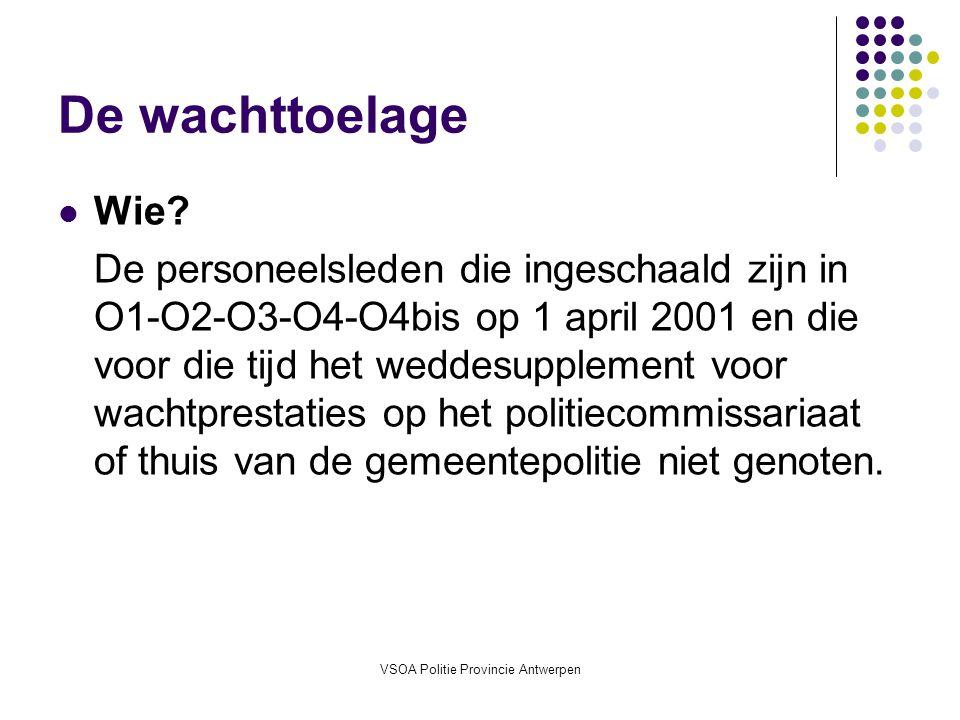 VSOA Politie Provincie Antwerpen
