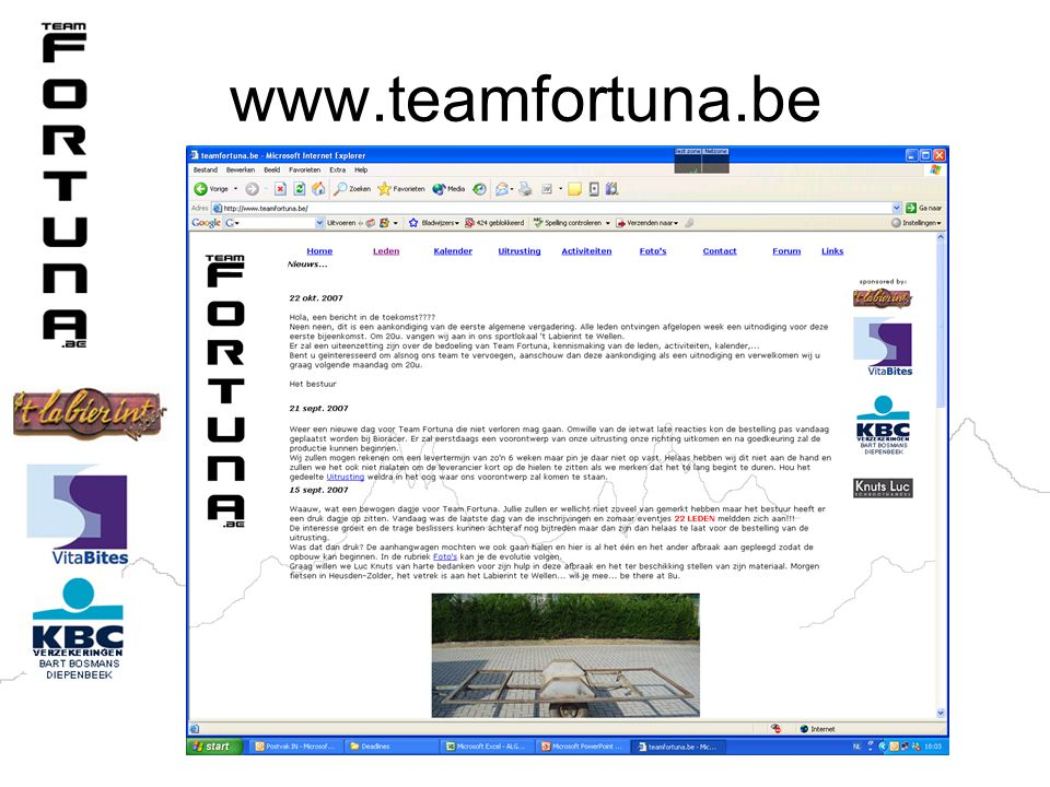 www.teamfortuna.be