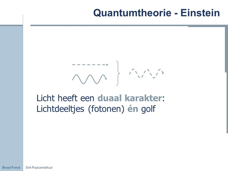 Quantumtheorie - Einstein