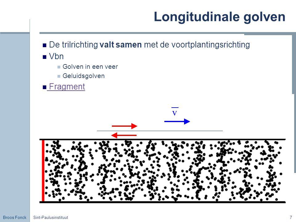 Longitudinale golven v