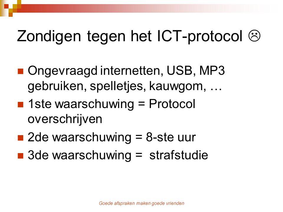 Zondigen tegen het ICT-protocol 