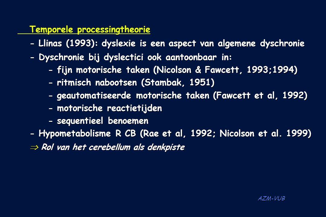 Temporele processingtheorie