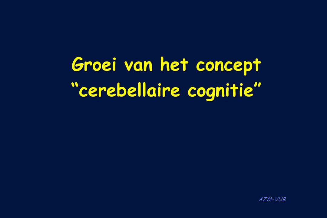 cerebellaire cognitie
