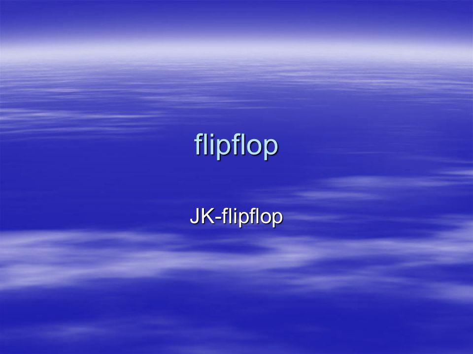 flipflop JK-flipflop