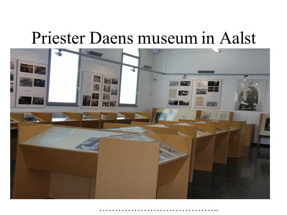 Priester Daens museum in Aalst