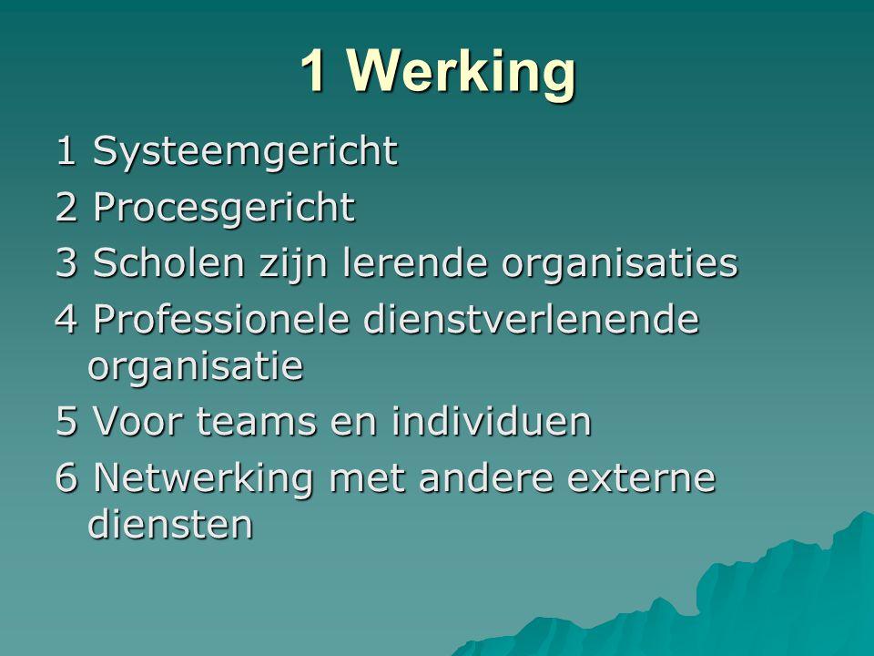 1 Werking 1 Systeemgericht 2 Procesgericht