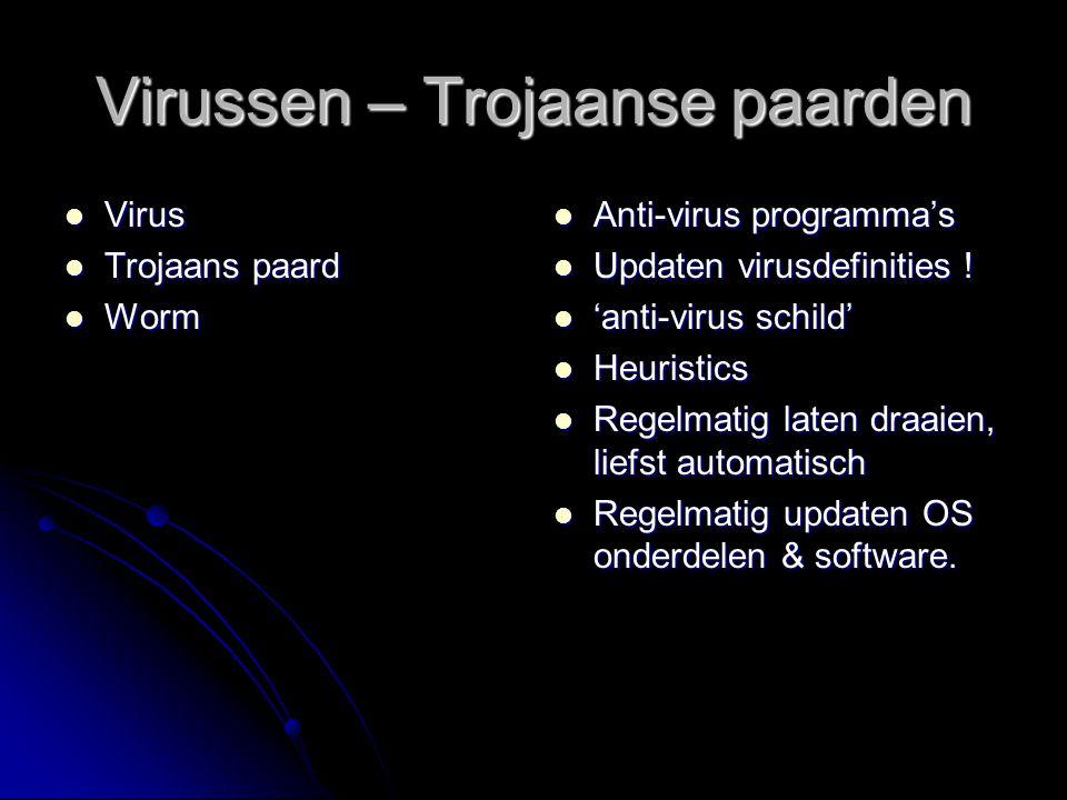 Virussen – Trojaanse paarden