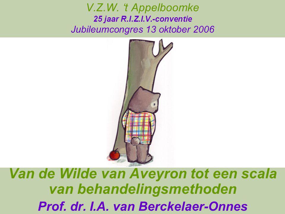 Van de Wilde van Aveyron tot een scala van behandelingsmethoden