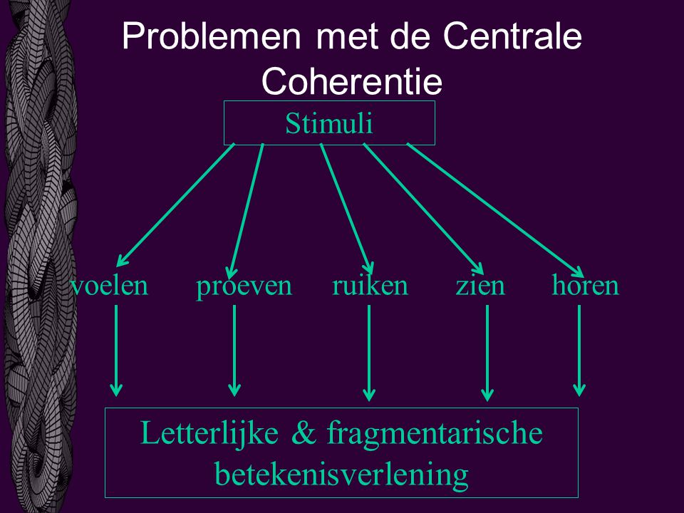 Problemen met de Centrale Coherentie