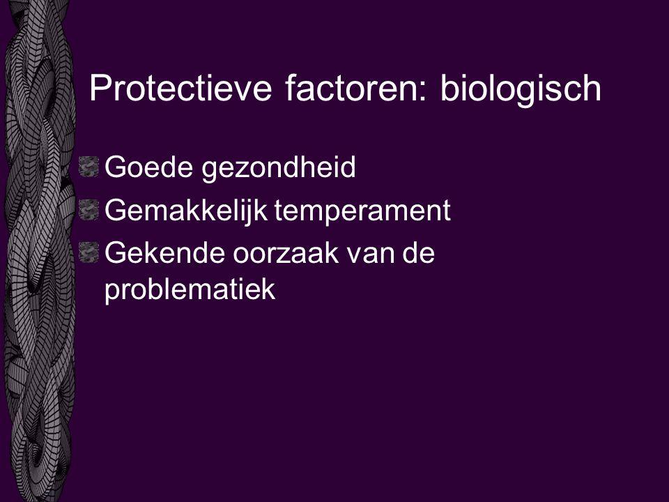 Protectieve factoren: biologisch