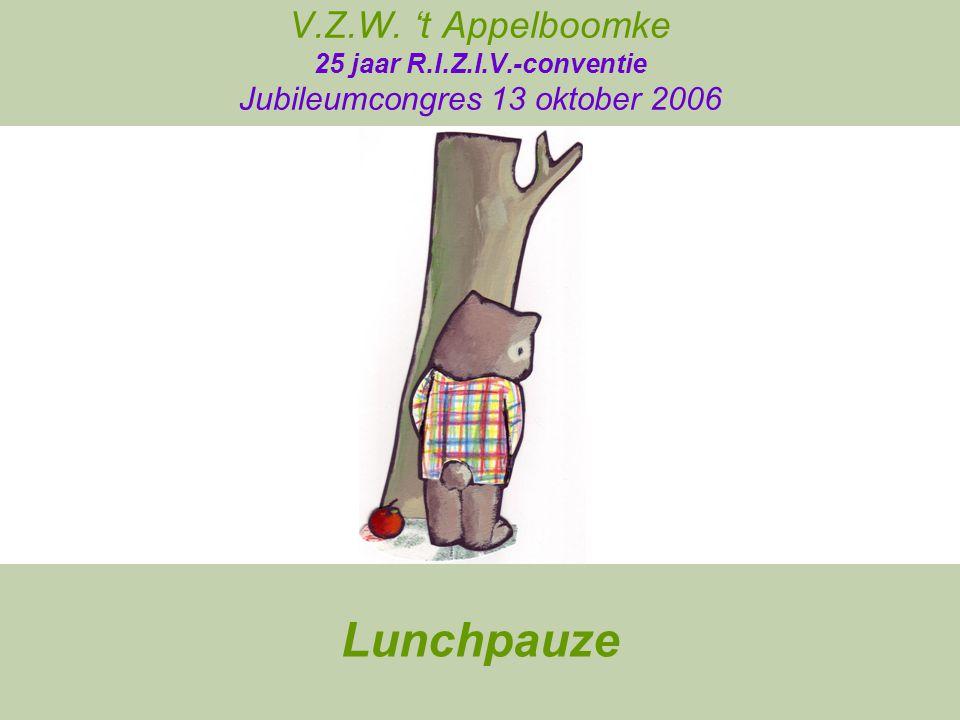 V. Z. W. 't Appelboomke 25 jaar R. I. Z. I. V