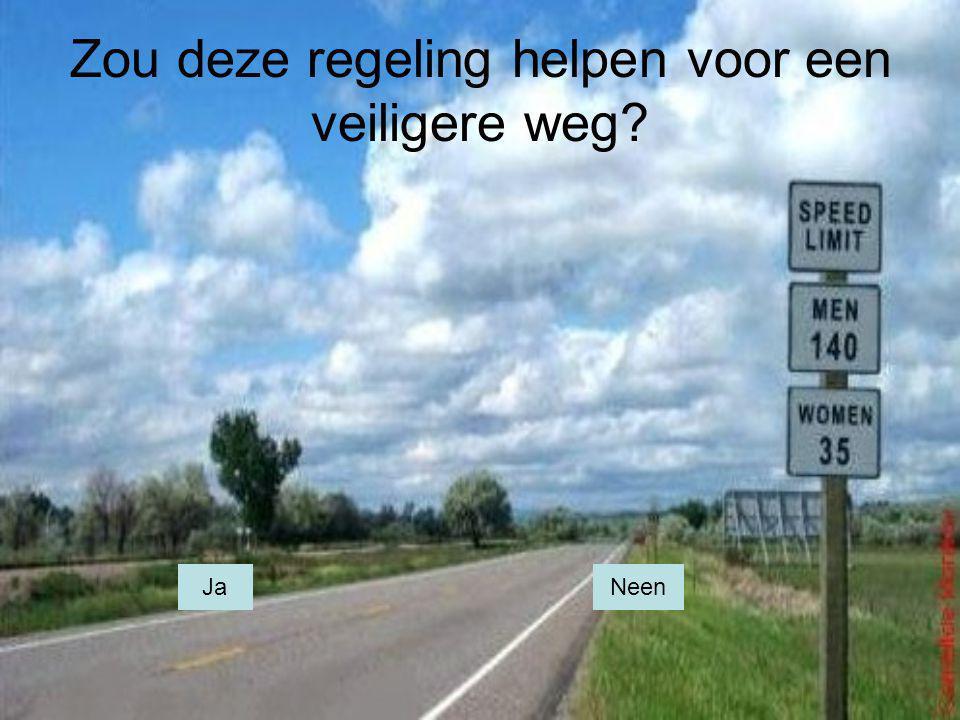 Zou deze regeling helpen voor een veiligere weg