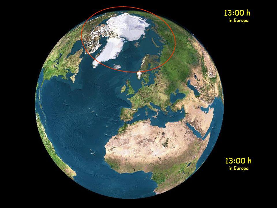 13:00 h in Europa