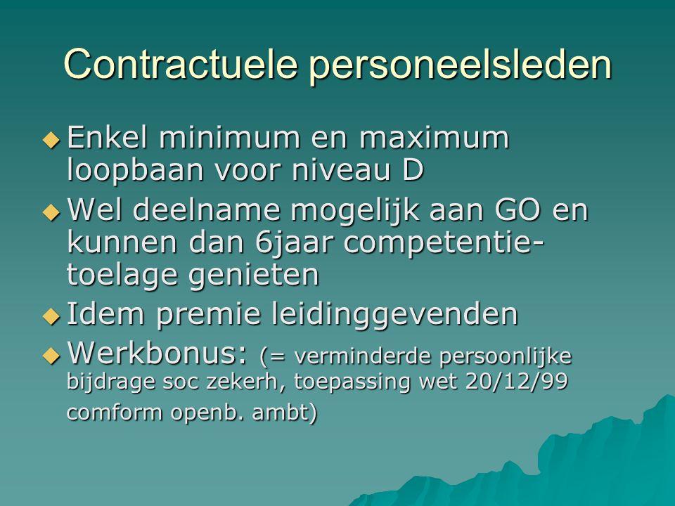 Contractuele personeelsleden