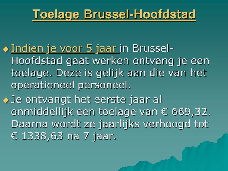 Toelage Brussel-Hoofdstad