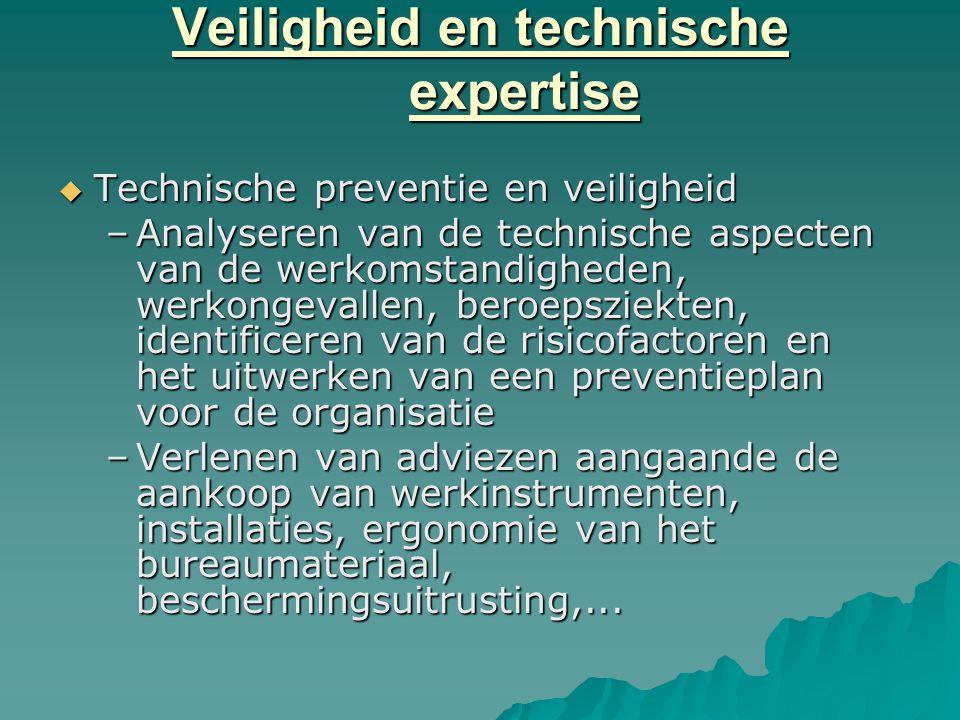 Veiligheid en technische expertise