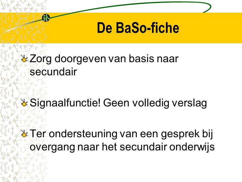 De BaSo-fiche Zorg doorgeven van basis naar secundair