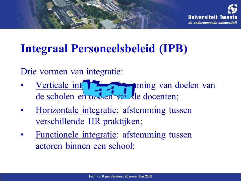 Integraal Personeelsbeleid (IPB)
