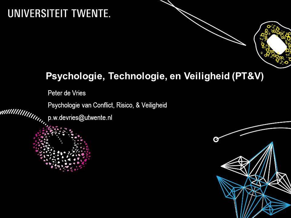 Psychologie, Technologie, en Veiligheid (PT&V)