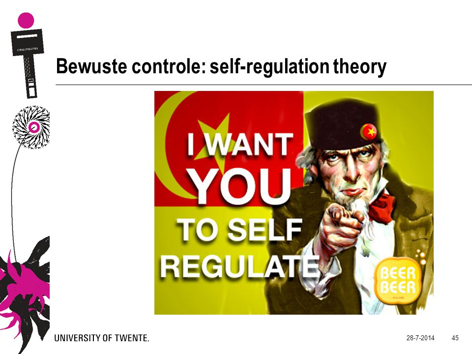 Bewuste controle: self-regulation theory
