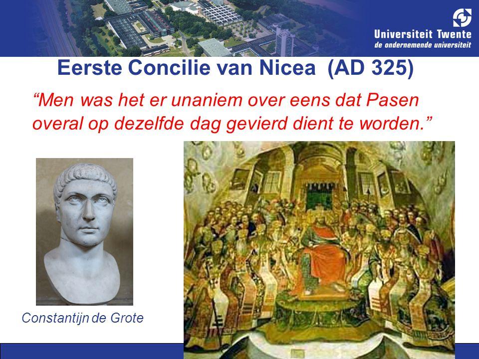 Eerste Concilie van Nicea (AD 325)
