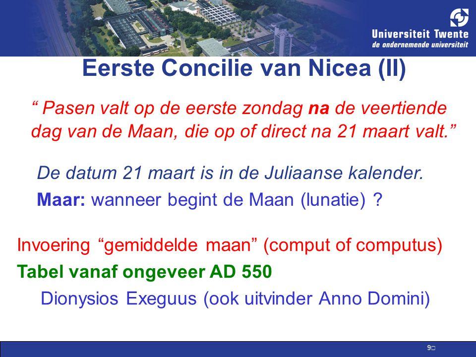 Eerste Concilie van Nicea (II)