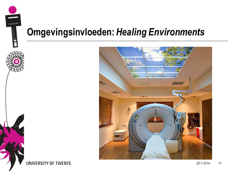 Omgevingsinvloeden: Healing Environments