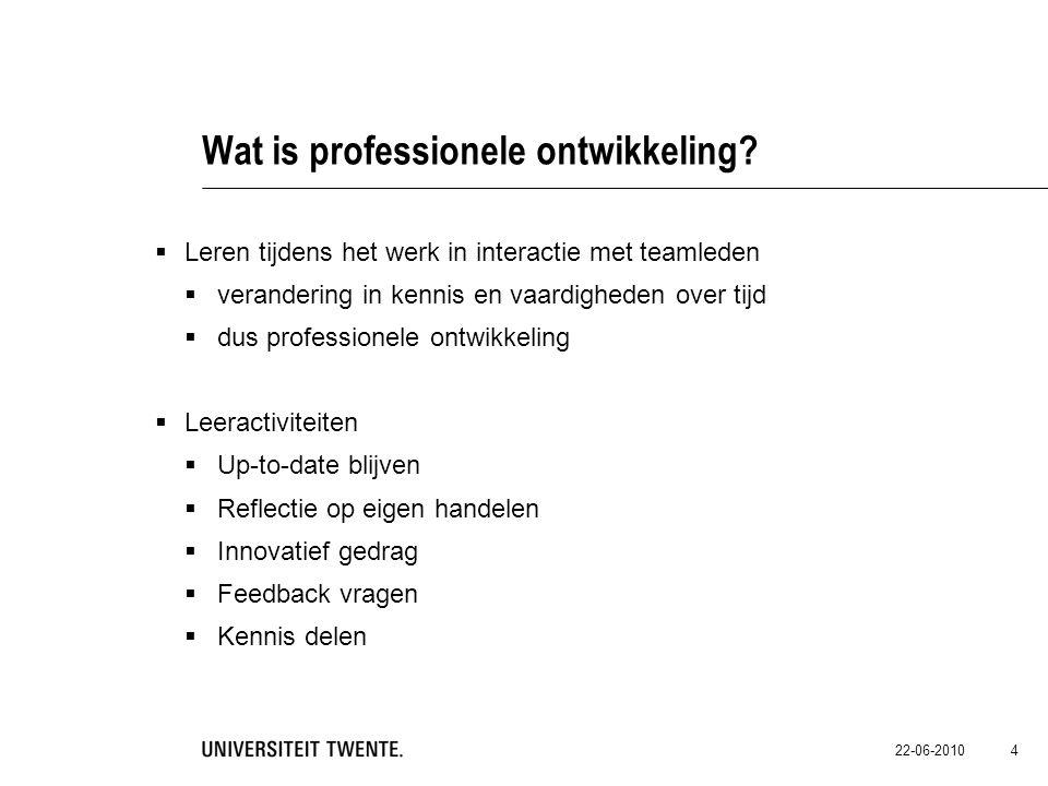 Wat is professionele ontwikkeling