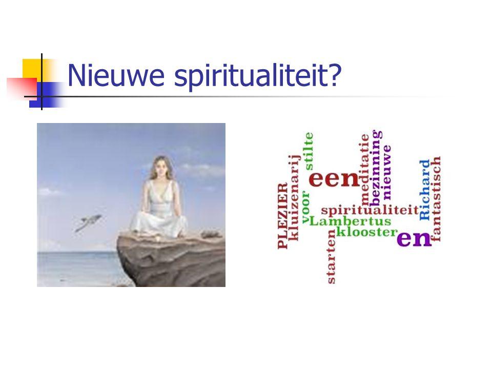 Nieuwe spiritualiteit