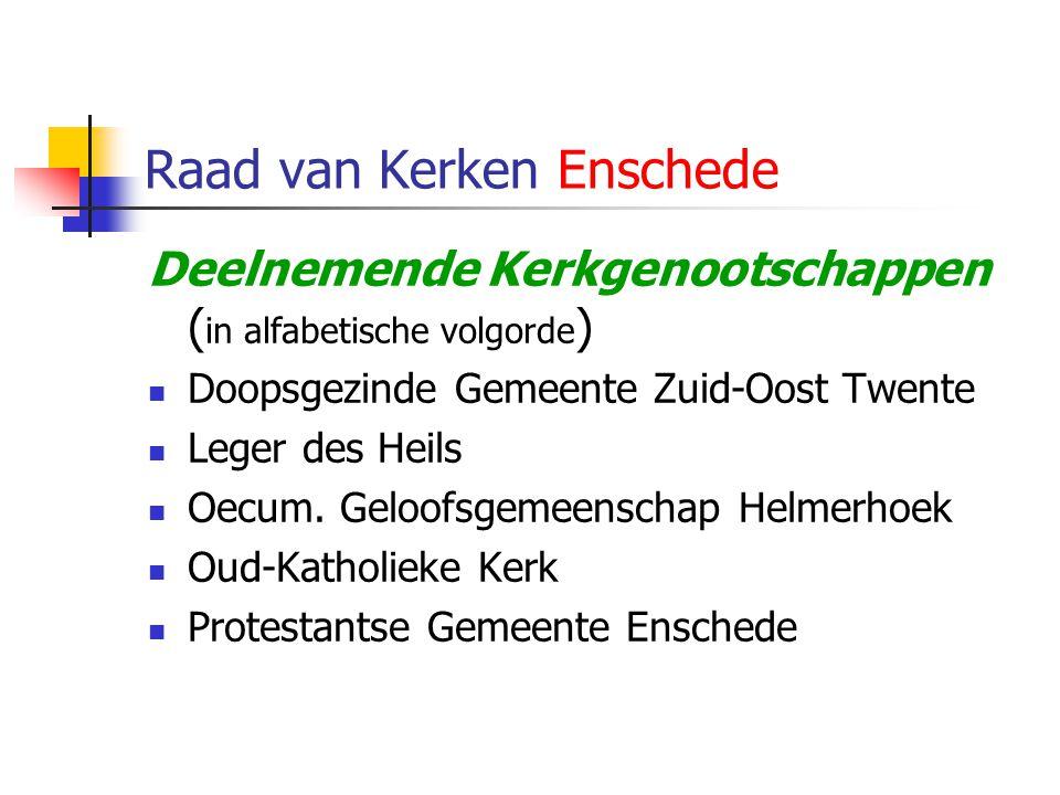 Raad van Kerken Enschede