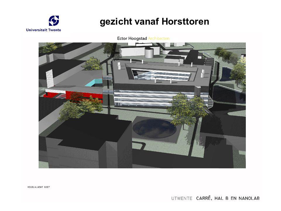 gezicht vanaf Horsttoren