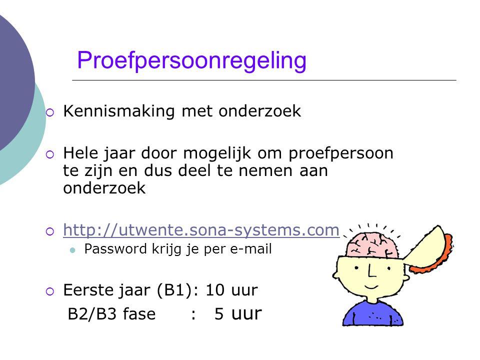 Proefpersoonregeling