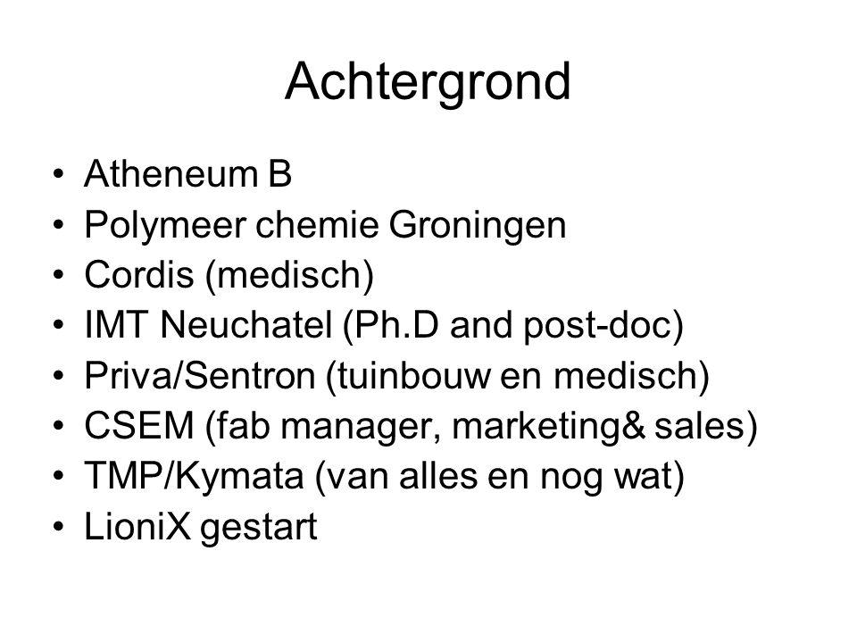 Achtergrond Atheneum B Polymeer chemie Groningen Cordis (medisch)