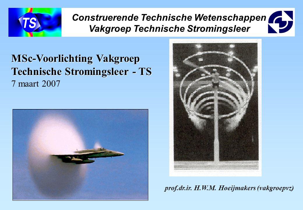MSc-Voorlichting Vakgroep Technische Stromingsleer - TS