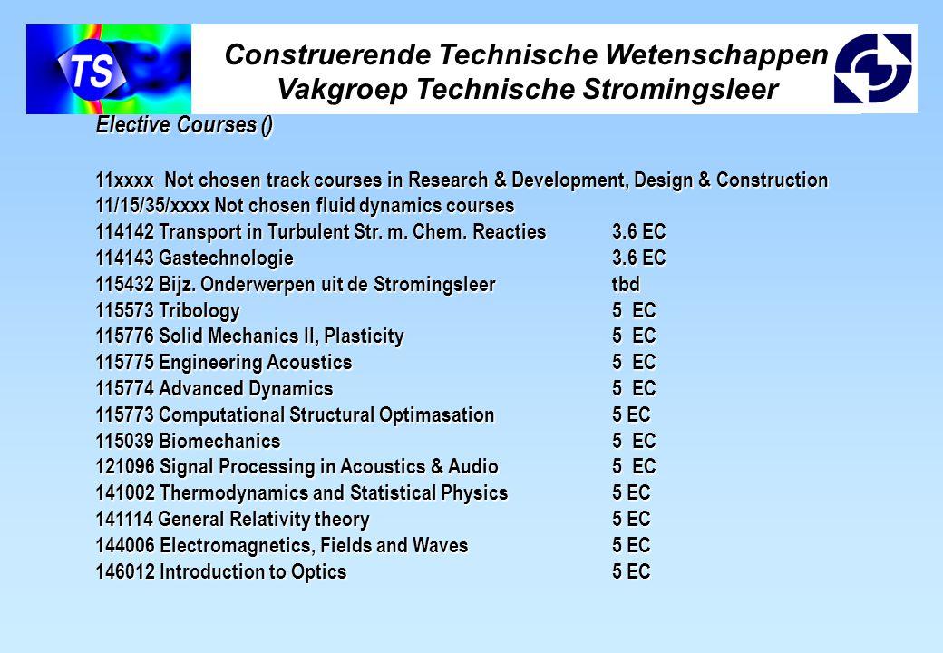 Construerende Technische Wetenschappen