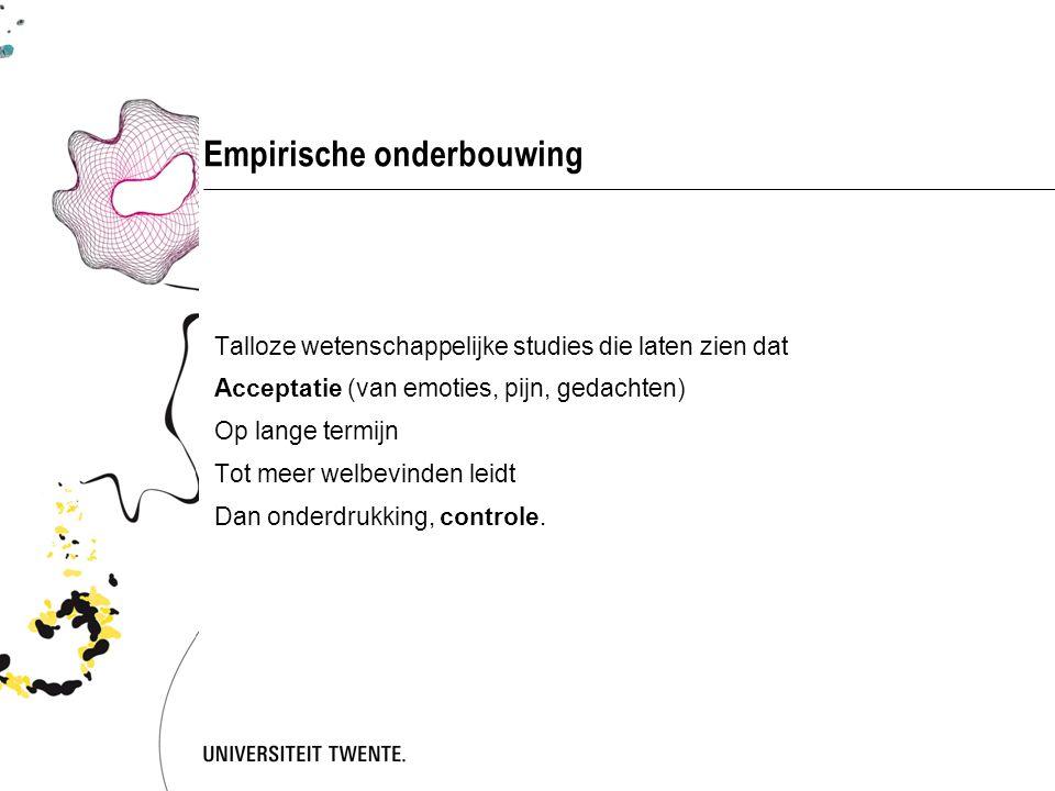 Empirische onderbouwing
