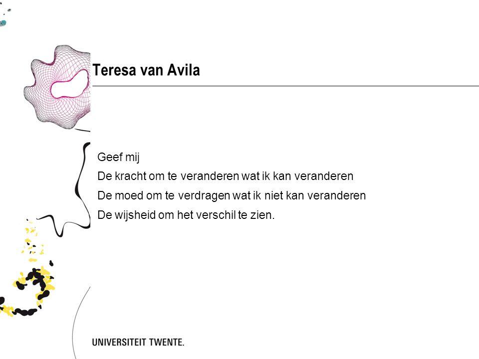 Teresa van Avila Geef mij