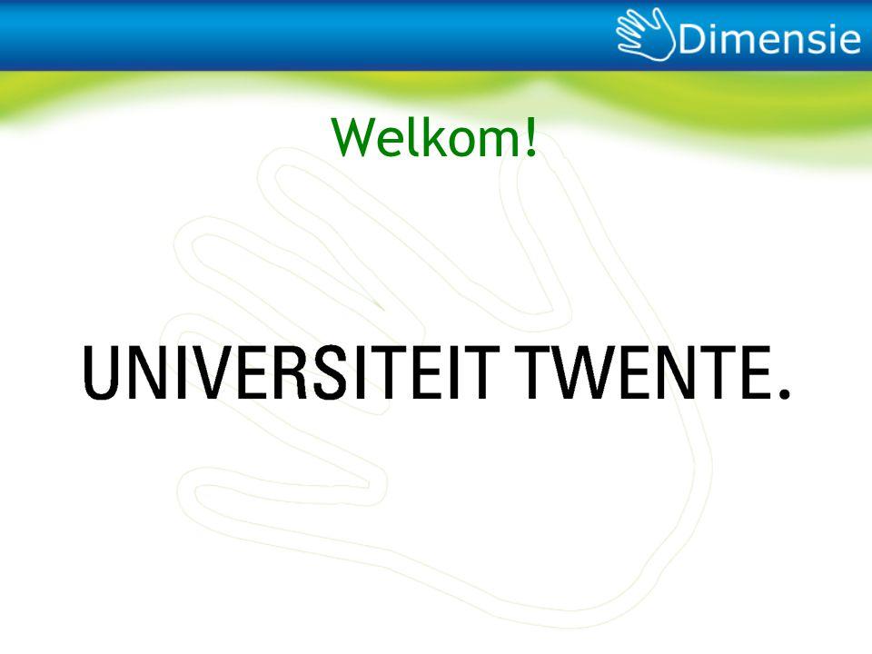 Welkom! Ook namens ons van harte welkom op de UT. 25