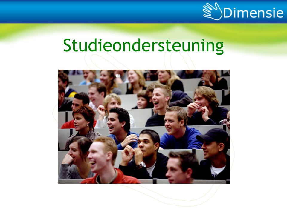 Studieondersteuning We maken je studie leuker en ondersteunen studenten in hun studie door voor hun belangen op te komen.
