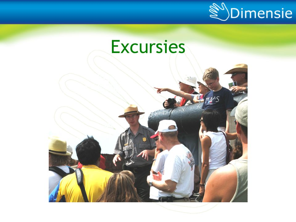 Excursies We zorgen tevens voor verdieping op en verbreding van je studie door middel van leuke excursies…