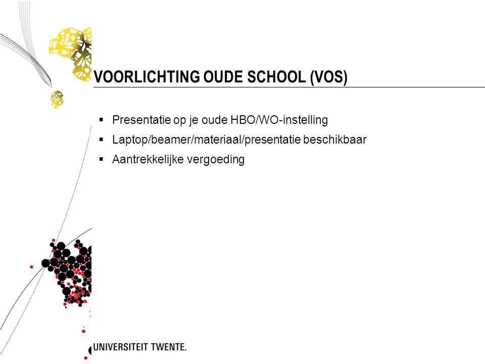 VOORLICHTING OUDE SCHOOL (VOS)