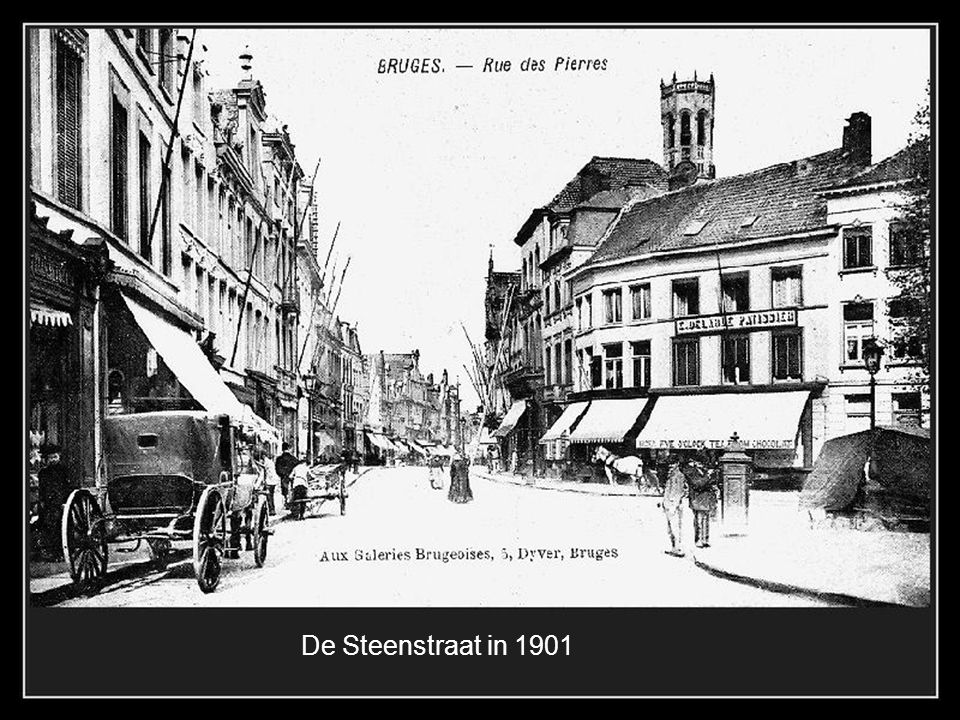De Steenstraat in 1901