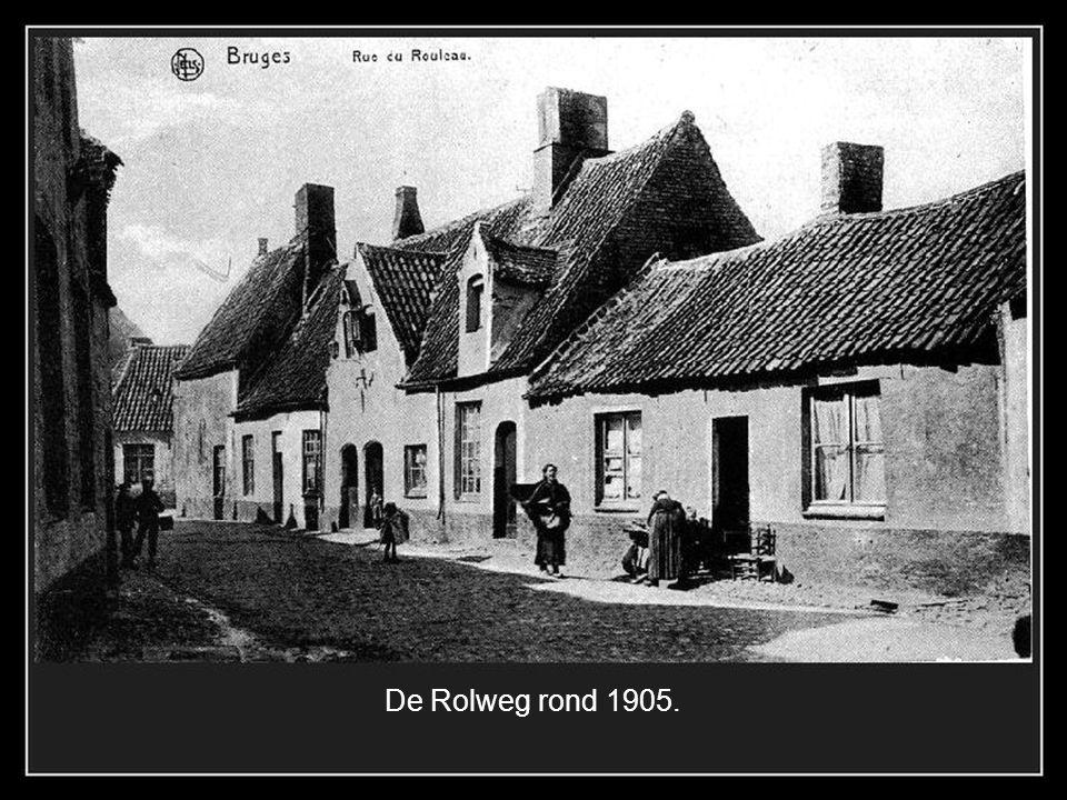 De Rolweg rond 1905.