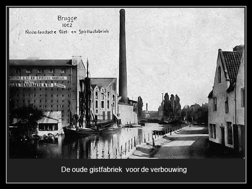 De oude gistfabriek voor de verbouwing.