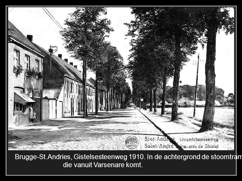 Brugge-St. Andries, Gistelsesteenweg 1910