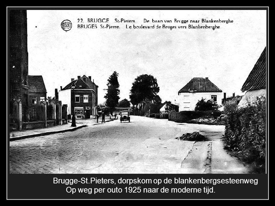 Brugge-St.Pieters, dorpskom op de blankenbergsesteenweg