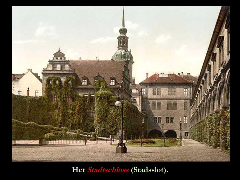 Het Stadtschloss (Stadsslot).
