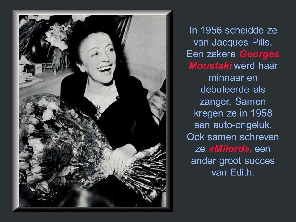 In 1956 scheidde ze van Jacques Pills