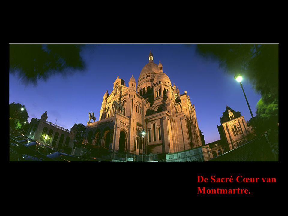 De Sacré Cœur van Montmartre.