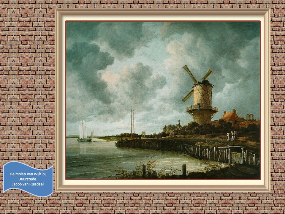 De molen van Wijk bij Duurstede.